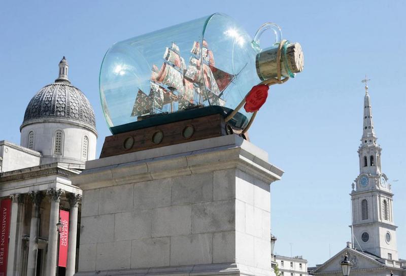 globedge-travel-london-trafalgar-square-fourth-plinth