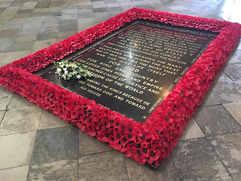 globedge-travel-london-westminster-abbey-tomb-unknown-warrior
